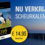 Op de cover scheurkalender 2016 National Geographic