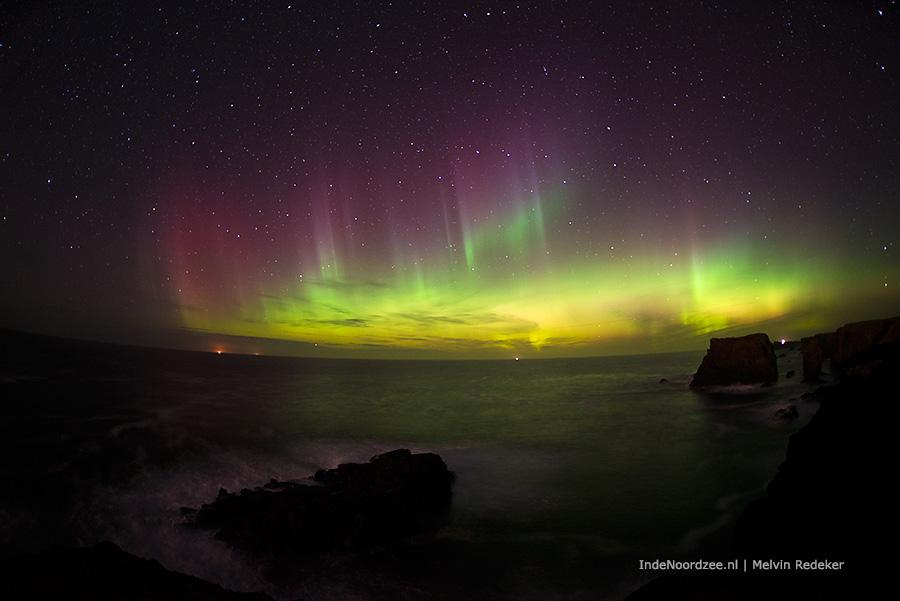 Genieten van Noordzee Noorderlicht (foto's)
