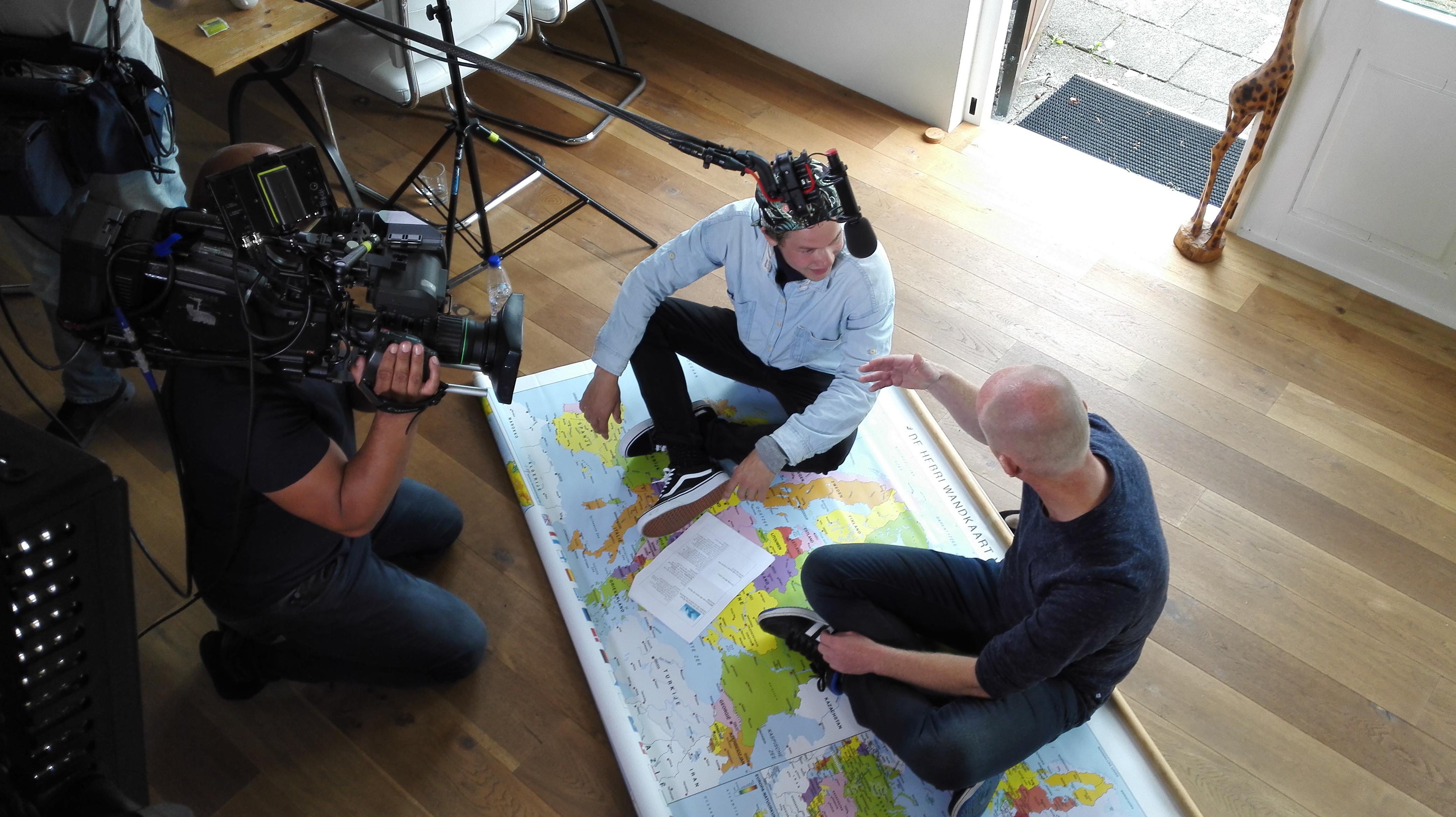 Opnames Het Klokhuis - In de Noordzee