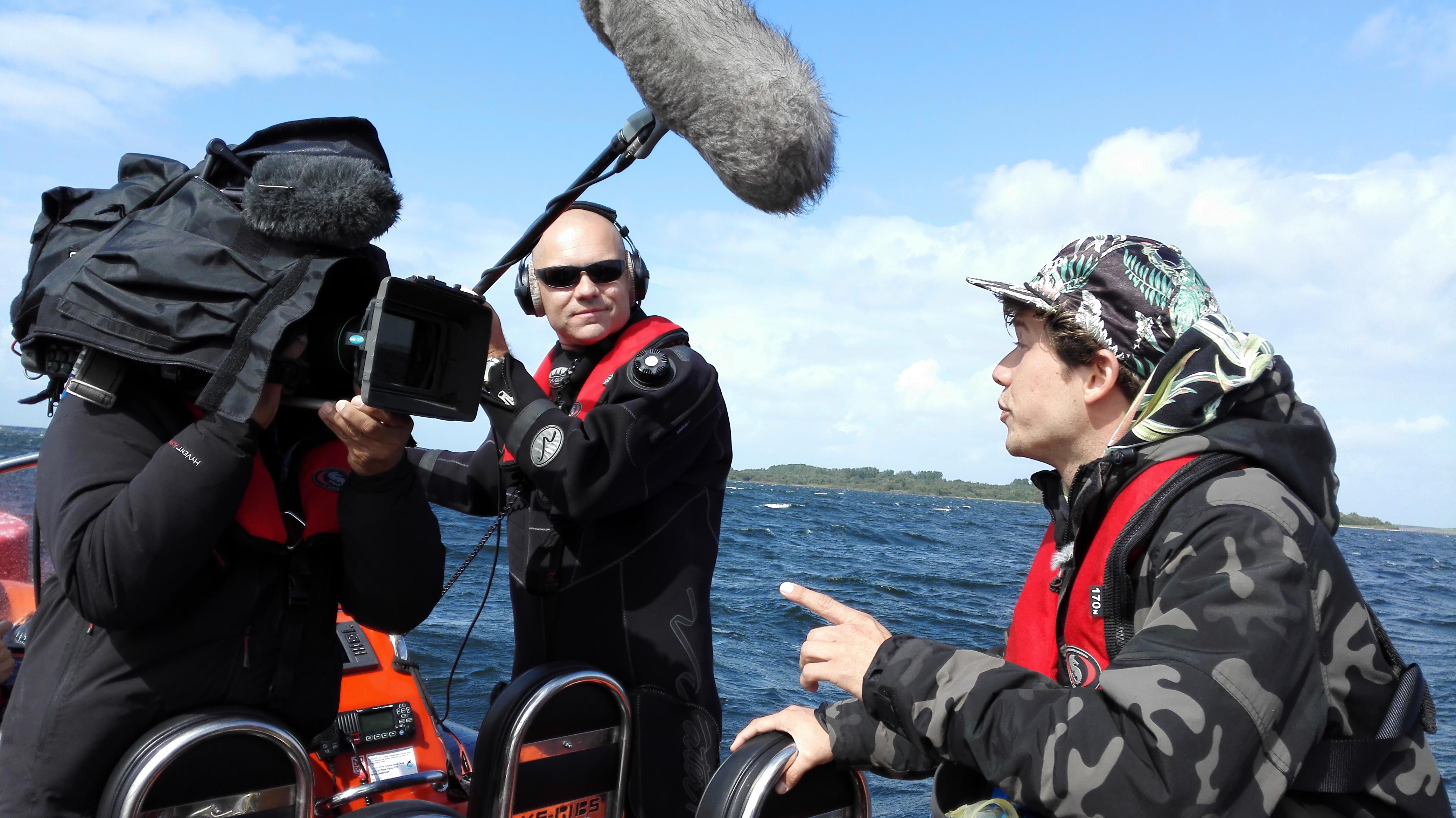 Het Klokhuis uitleg presentator Pascal Tan - In de Noordzee