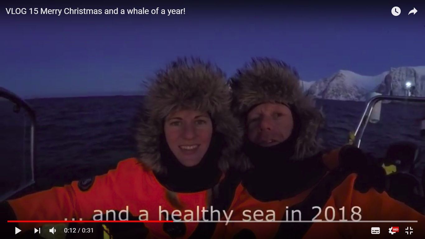 We wensen je 'a whale of a year' in 2018!