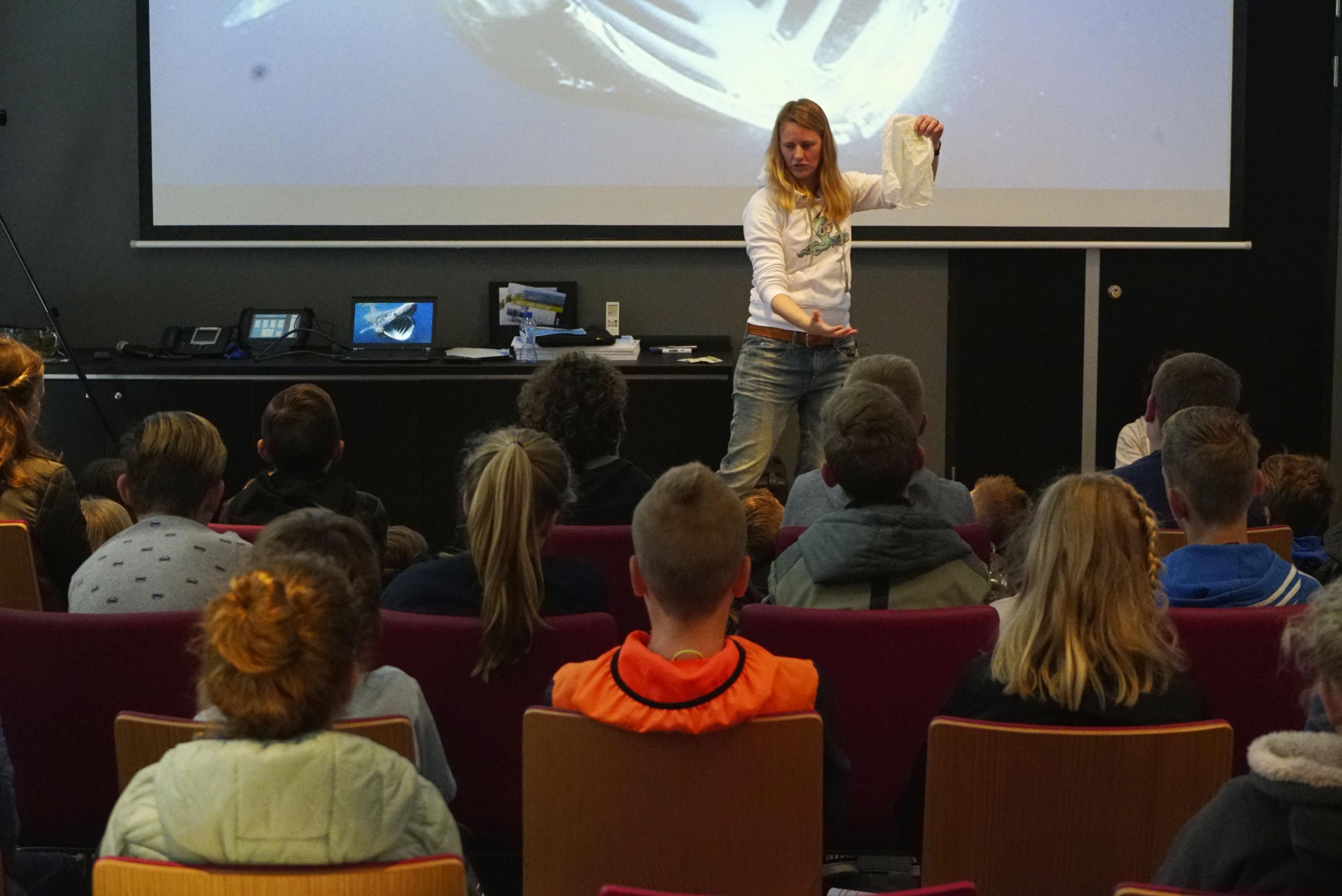 Opening leerlingencongres Expeditie Groene Voetstappen