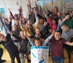 Inspirerende lesdag in Schoonhoven op basisschool