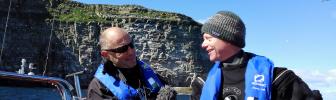 Uitgebreid interview op BBC Radio Shetland